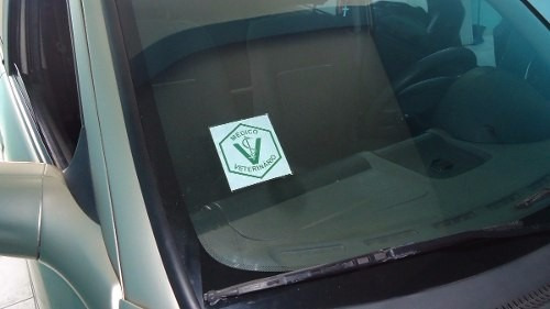 adesivo médico veterinário para colocar no vidro do carro