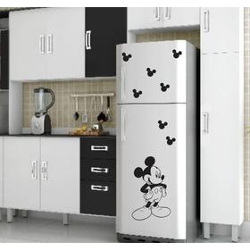 Adesivo Mickey De Parede,geladeira Ou Box Mod.11 - M