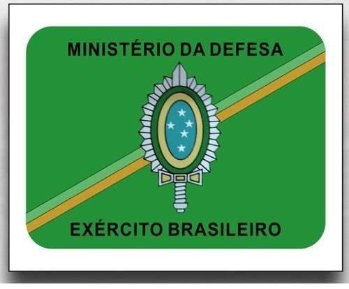 adesivo ministério da defesa eb exército brasileiro