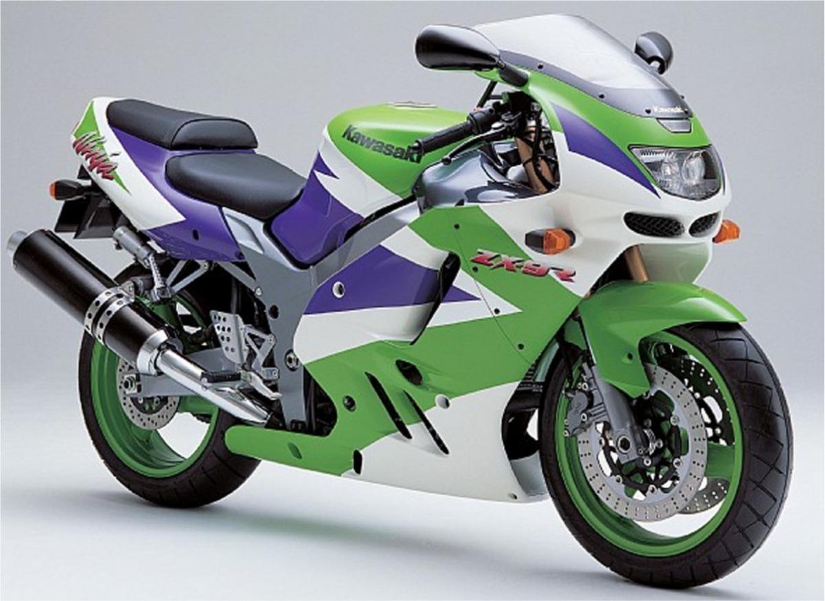 Cetec Adesivos Adesivo Moto Kawasaki Ninja Zx9r 1997 Verde Branca Ca 00941 R 134 90
