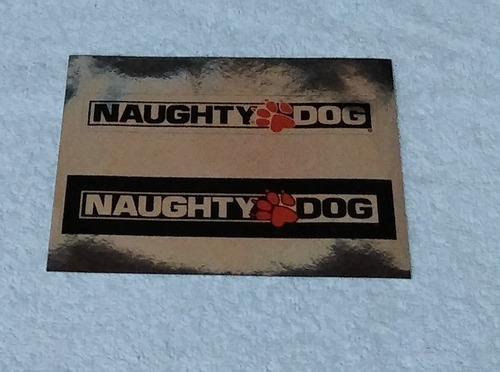 adesivo naughty dog do game the last of us ps3 ** leia