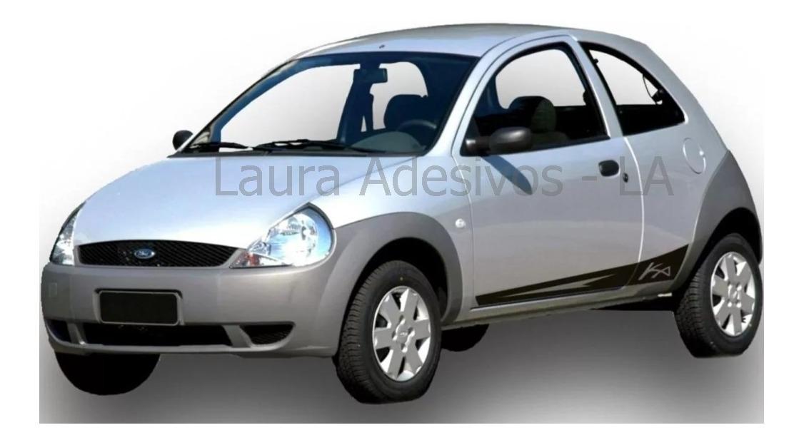 Adesivo Novo Faixa Lateral Ford Ka Tuning Acessorios Pecas R 65 65 Em Mercado Livre