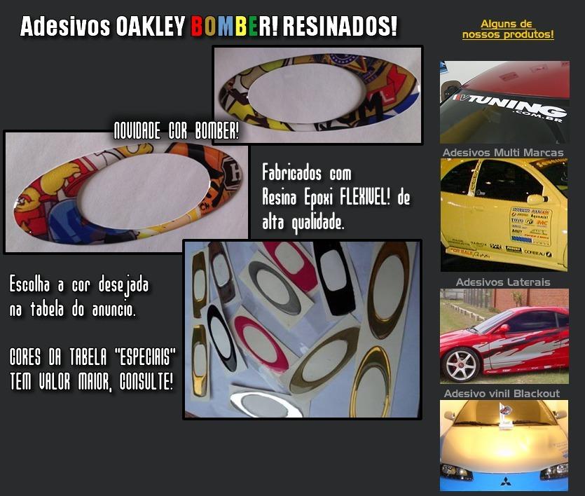 17e2fd2e0 adesivo oakley alto relevo resinados carro moto capacete 1un. Carregando  zoom.