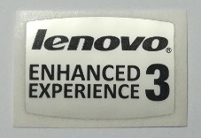 adesivo original lenovo enhanced experience 3