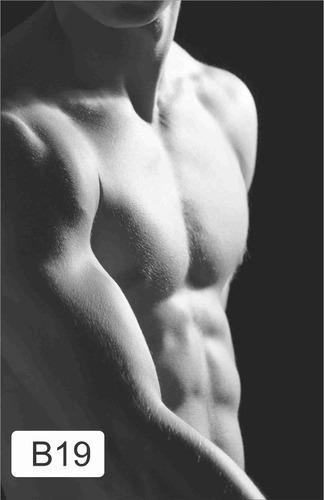 adesivo painel academia fitness pilates musculação diversos
