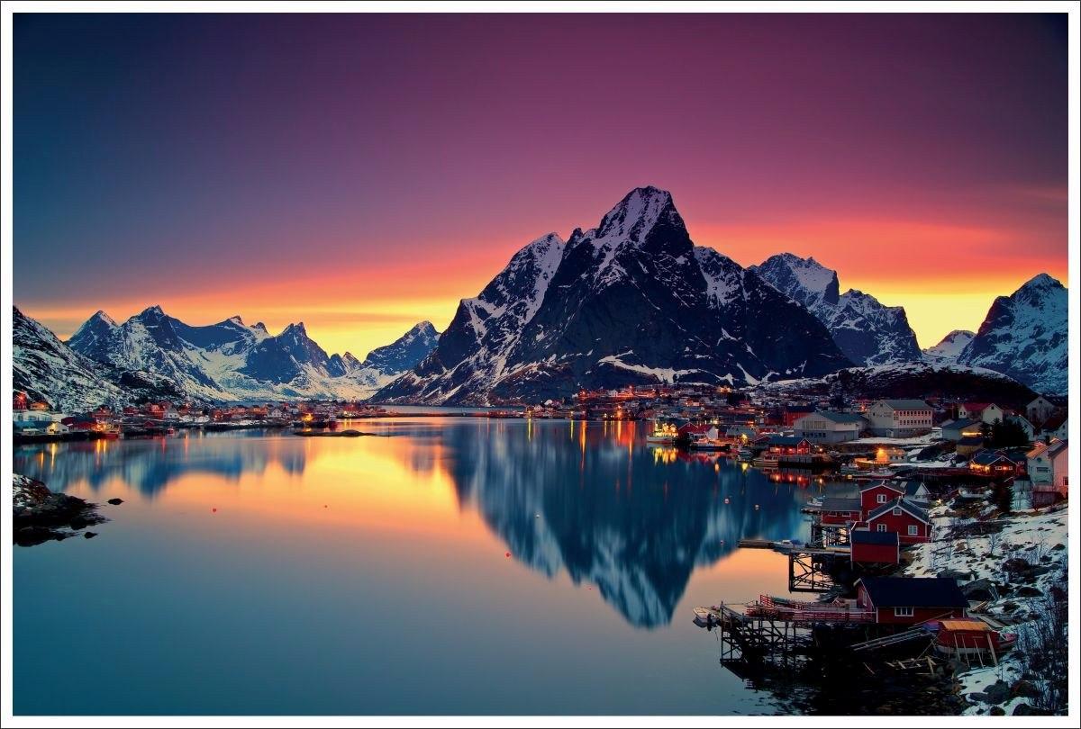 Adesivo painel fotogr fico paisagens bonitas 3 r 53 - Fotos de habitaciones bonitas ...