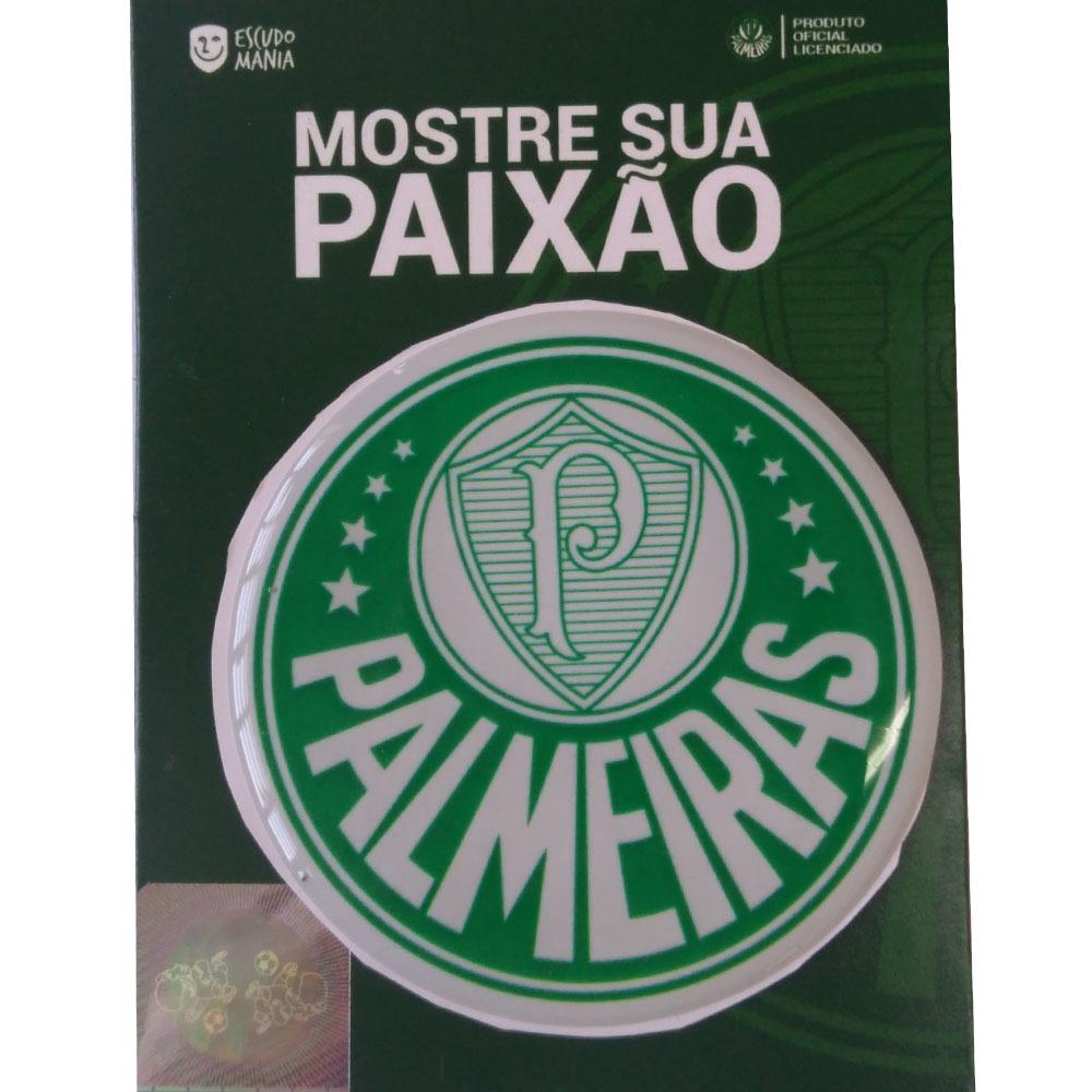 0a0e710ecc199 Adesivo Palmeiras Escudo Original - Escudo Mania - R  9
