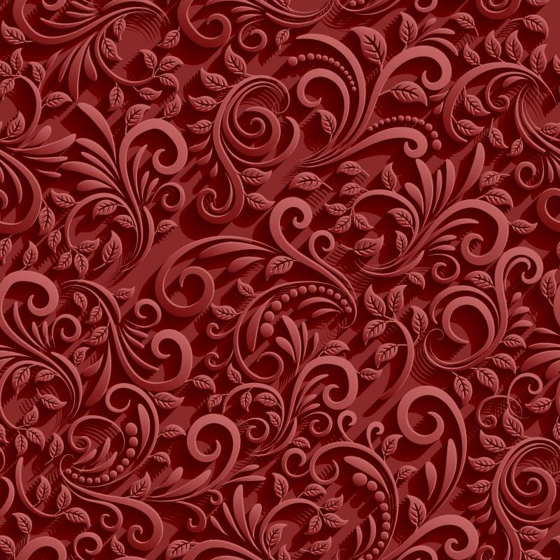 adesivo papel de parede efeito 3d vermelho adesivo fosco r 24 90