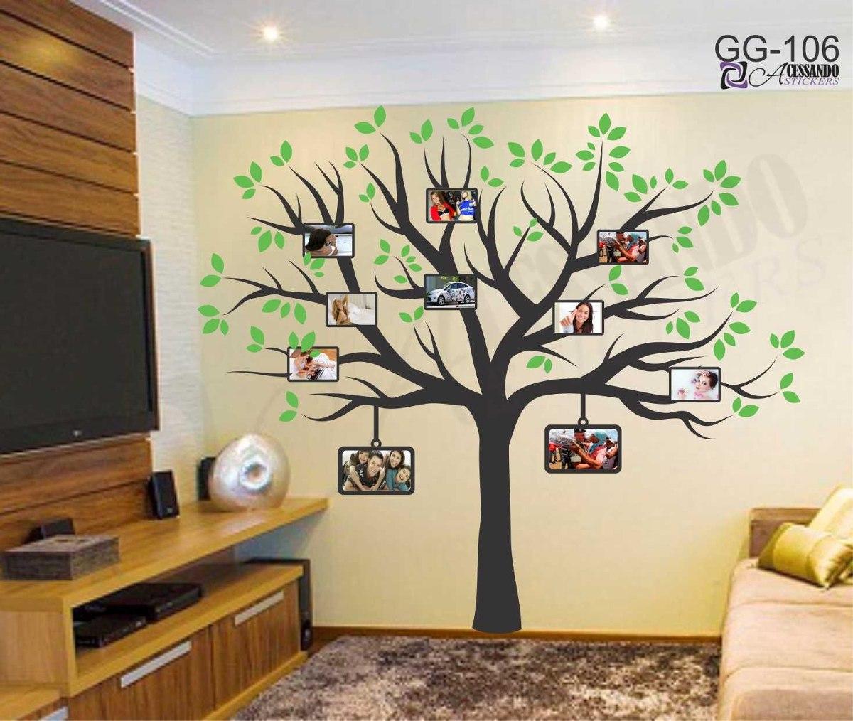 Adesivo papel parede arvore flor queima de estoque - Papel pared barato ...