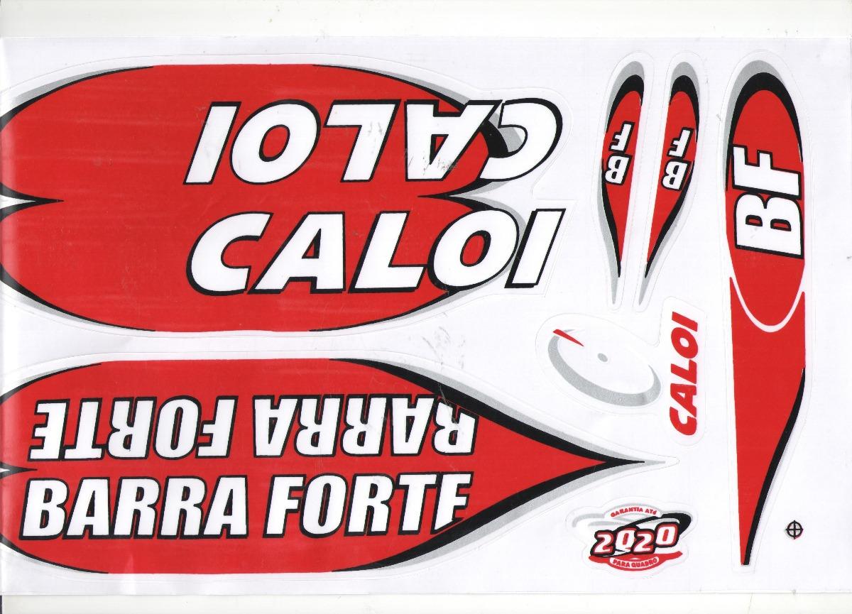 Adesivo Para Bicicleta Caloi Barra Forte Bf 2020 R 11 99 Em