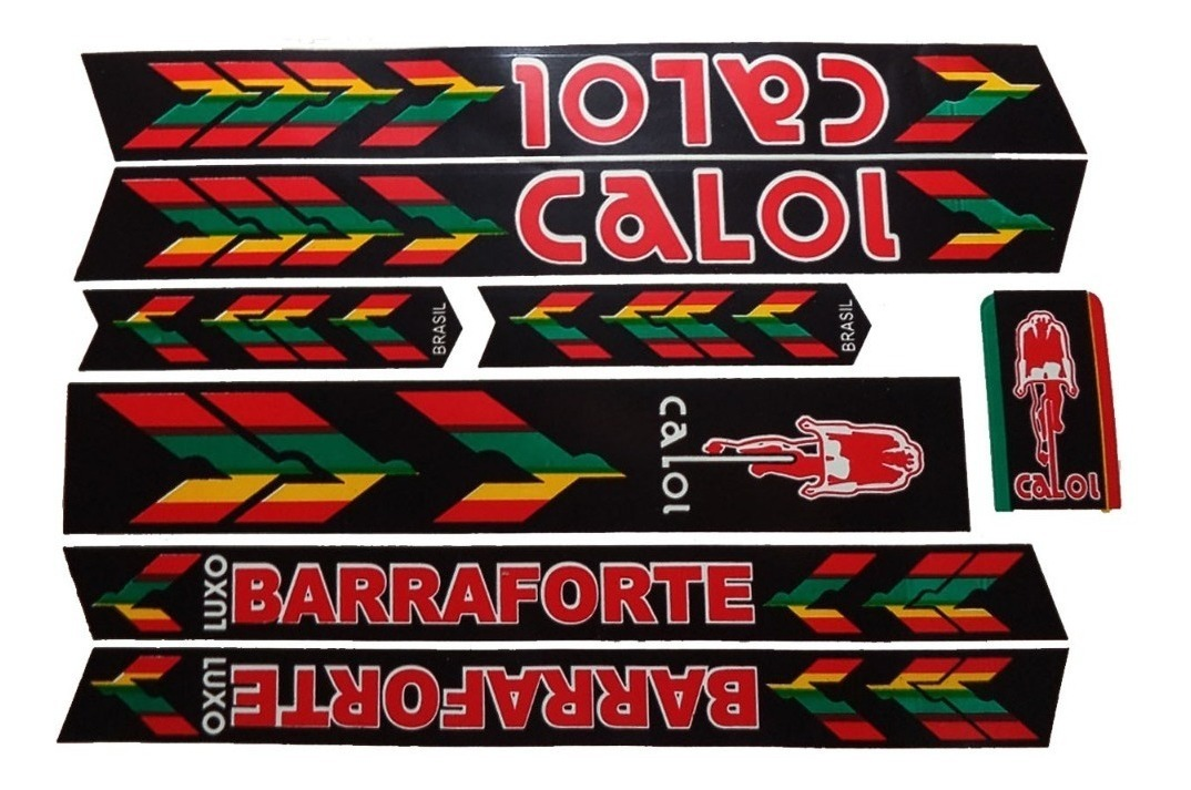 Adesivo Para Bicicleta Caloi Barra Forte Frete Gratis R 17 99
