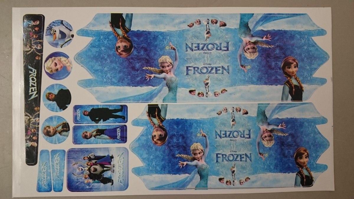 Armario Jardin Resina ~ Adesivo Para Bicicleta Infantil Personagem Frozen Meninas R$ 6,00 em Mercado Livre