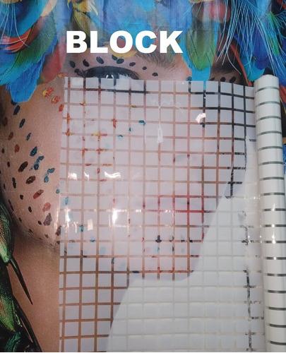 adesivo para box, portas, vidros 1m x 75cm