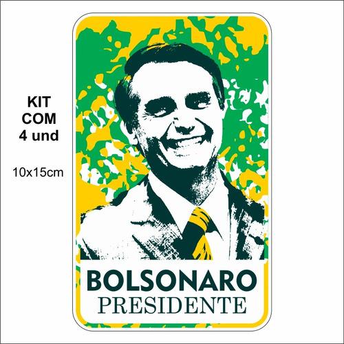 adesivo para carro bolsonaro presidente
