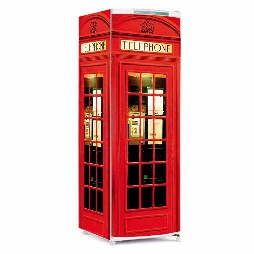 Tricolandia Artesanato Londrina ~ Adesivo Para Geladeira 2 Portas Cabine Telef u00f4nica De Londres R$ 179,90 em Mercado Livre