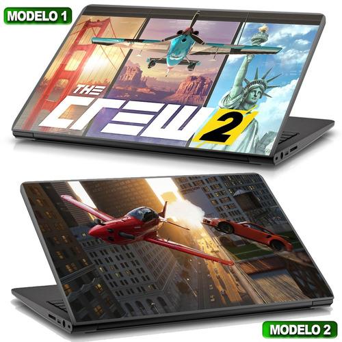 adesivo para notebook the crew2 gamer top d+ compre já