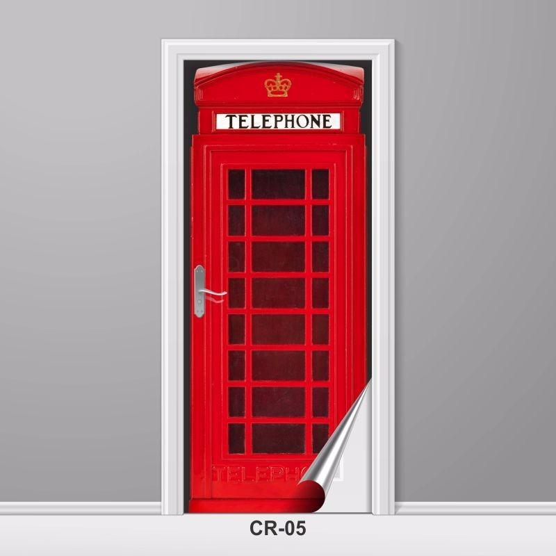 c6d6ef595 adesivo para porta cabine telefônica londres retrô criativo. Carregando  zoom.