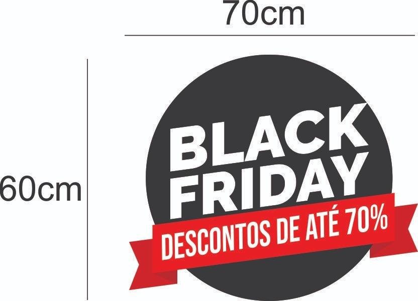 Adesivo Para Vitrine Black Friday Adesivos Para Lojas - R  94,99 em Mercado  Livre 9b394d6881