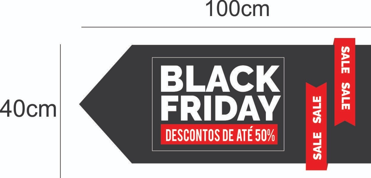 Adesivo Para Vitrine Black Friday Adesivos Para Lojas - R  89,99 em Mercado  Livre b2c0ef5232