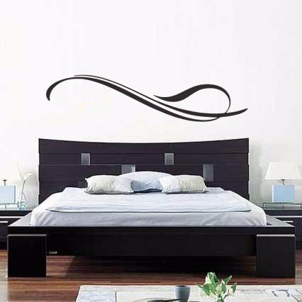 adesivo parede abstrato exclusivo quarto sala 28x120 cm