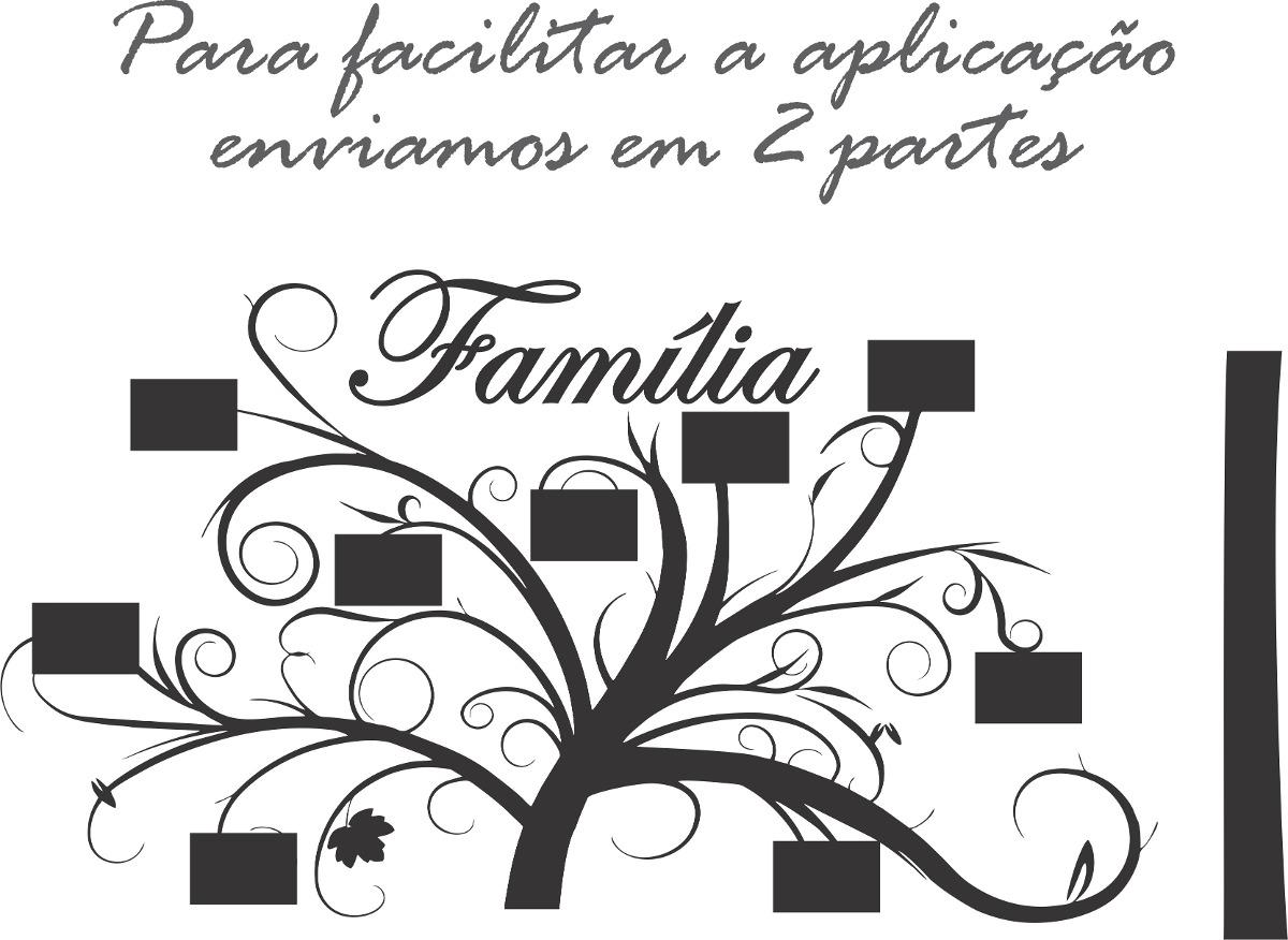 Adesivos De Letras Pequenas ~ Adesivo ParedeÁrvore Genealógica Porta Retrato Frete