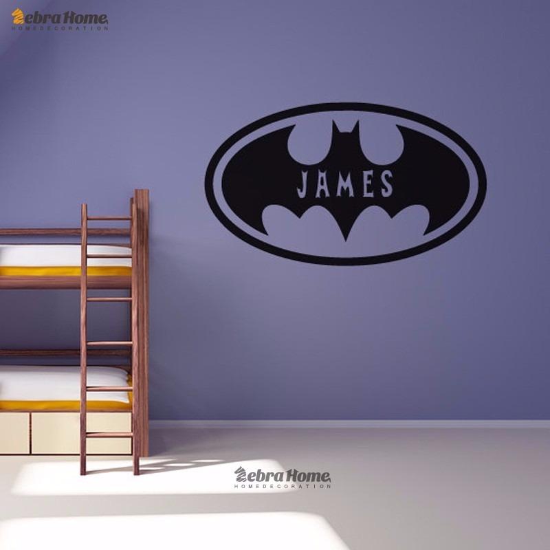4cad710b0d83d0 Adesivo Parede Batman Quarto Masculino Menino Infantil Moceg