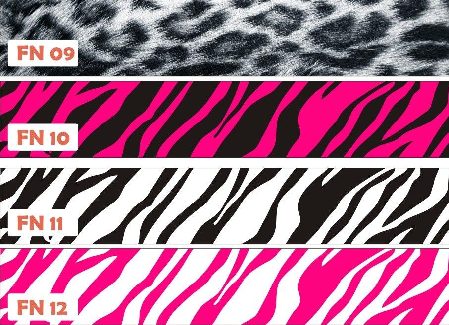 Adesivo Onça ~ Adesivo Parede Border Faixa Quarto Onça Tigre Zebra