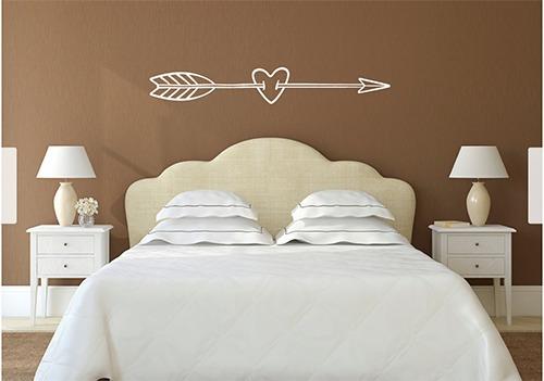 adesivo parede cabeceira cama 1,40 metro quarto casal