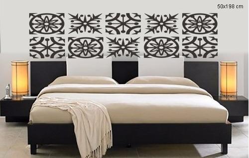 adesivo parede cabeceira cama king quarto estrelas