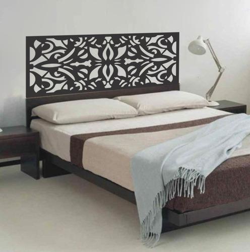 adesivo parede cabeceira cama quarto casal 55cmx140cm