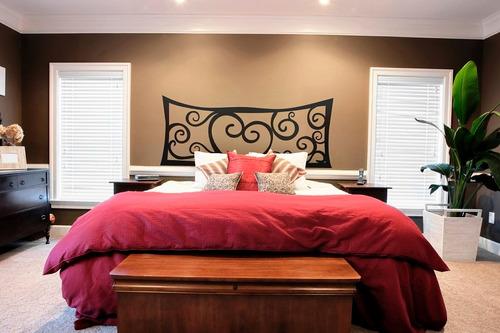 adesivo parede cabeceira cama queen casal 50x140 cm