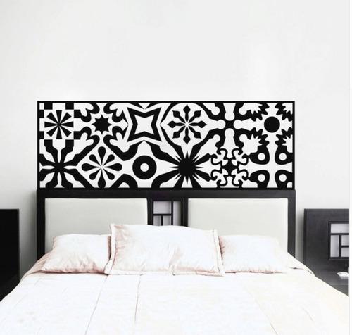 adesivo parede cabeceira cama queen quarto casal 50x160 cm