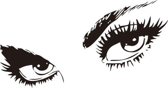 Adesivo Gato De Botas ~ Adesivo De Parede Pessoas001 115x60cm Olhos Mulher Decor R$ 38,00 em Mercado Livre