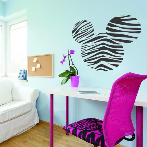 adesivo parede decorativo mickey mouse disney desenho 80x90