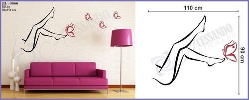 adesivo parede depilação estética modelo exclusivo oferta!