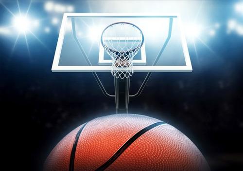 adesivo parede esporte basquete cesta jogo bola gg160