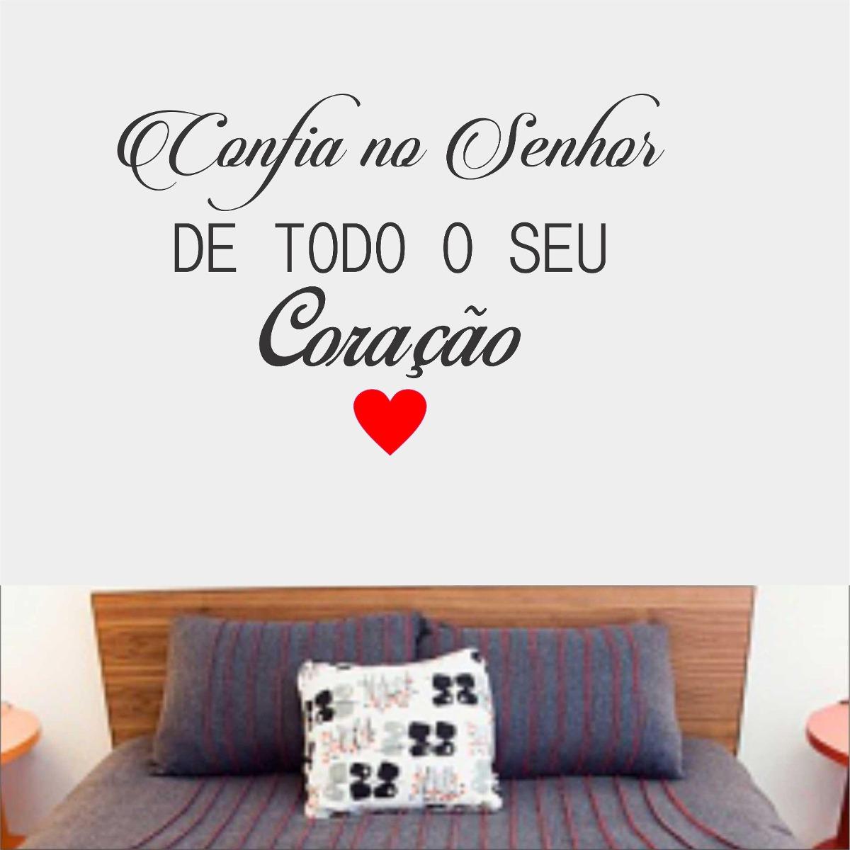 Adesivo parede frase salmos biblico confia no senhor for Enjoy your new home images