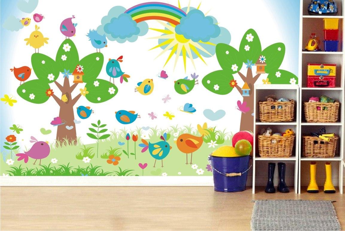 Aparador Wengue ~ Adesivo Painel Safari Decorativo Parede Infantil Zoo Mod10 R$ 99,00 em Mercado Livre