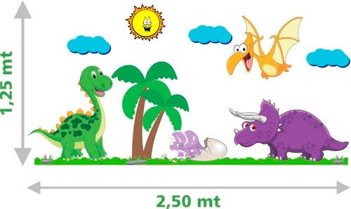 adesivo parede infantil bebê dinossauro safari animais lindo