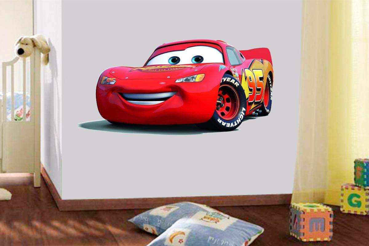 Adesivo Parede Infantil Filme Carros Disney Mcqueen 2 Metros R