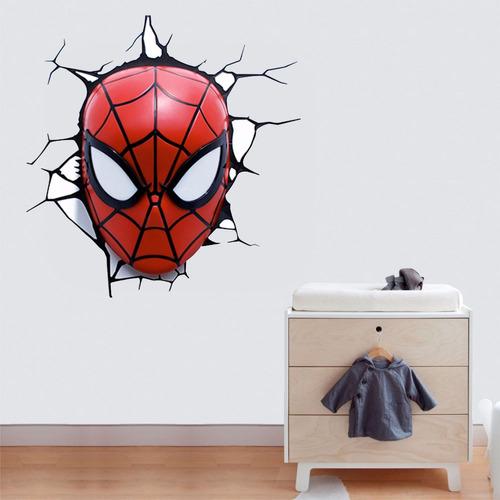 adesivo parede infantil filme heroi homem aranha parede