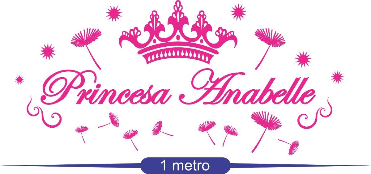 Coroa De Princesa Desenho: Adesivo Parede Infantil Princesa Coroa Menina