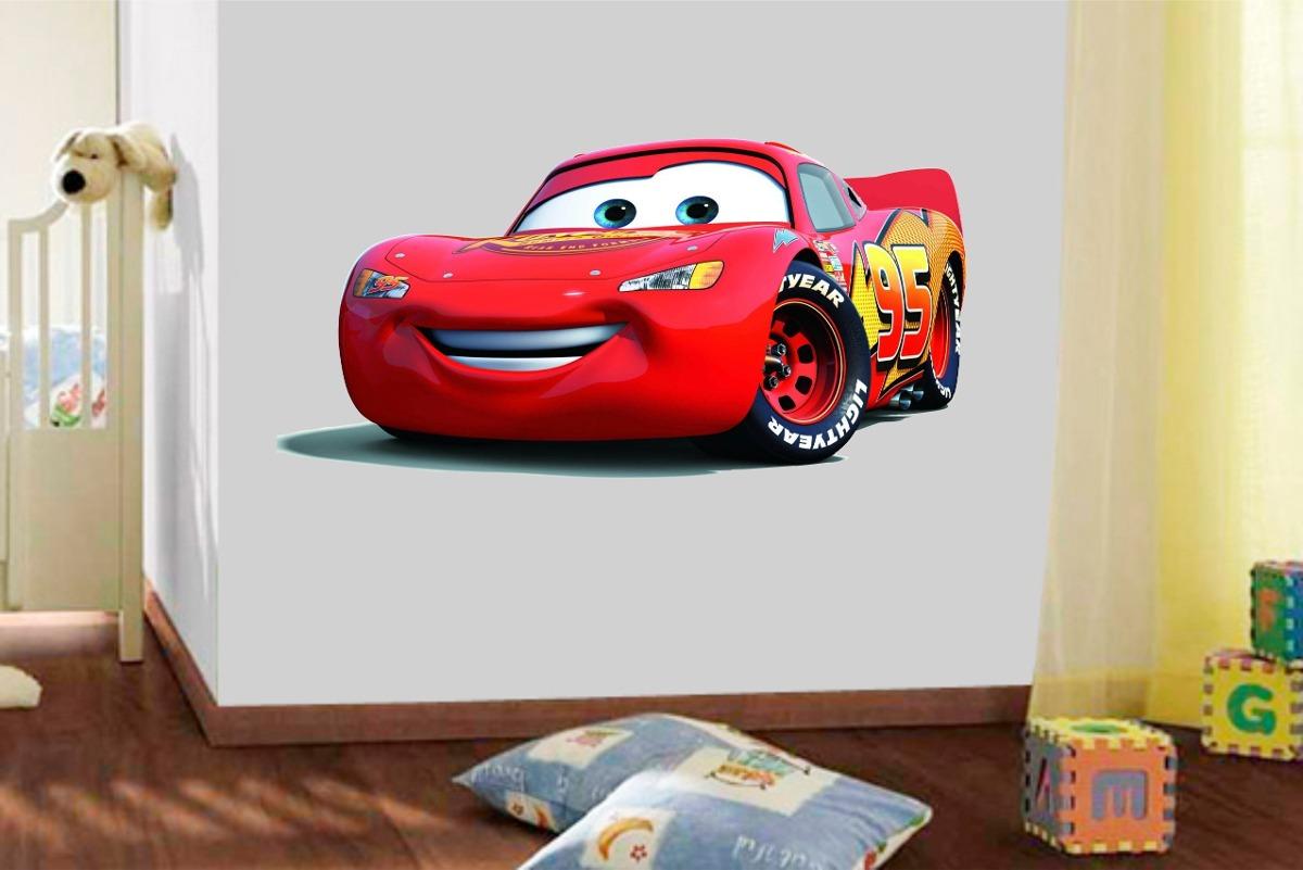 Aparador Pequeno Preto ~ Adesivo Parede Infantil Quarto Filme Carros Mcqueen Disney R$ 139,99 em Mercado Livre