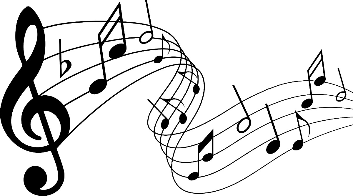 adesivo parede m u00fasica decorativo notas musicais 72x36cm r  23 65 em mercado livre music note clip art free music note clip art free downloads