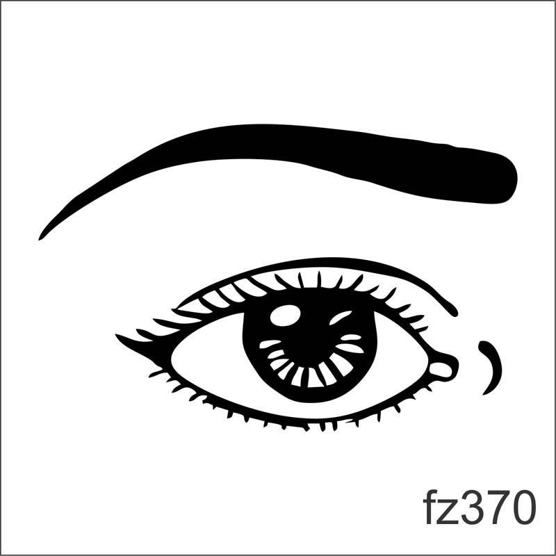 adesivo parede olho grande desenho caricatura fz370 r 85 29 em