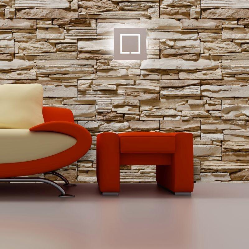 629b755ca adesivo parede papel pedra tijolo filete lajota rolo 6.00 m. Carregando  zoom.