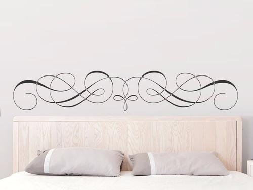 adesivo parede para cabeceira cama quarto casal 25x140 cm