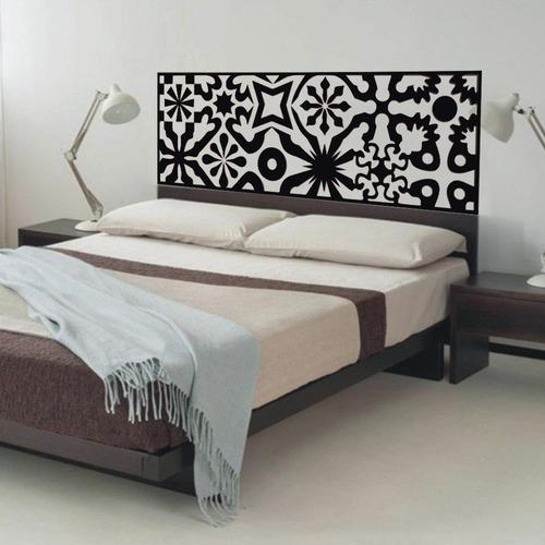 adesivo parede para cabeceira cama quarto casal 50x140 cm