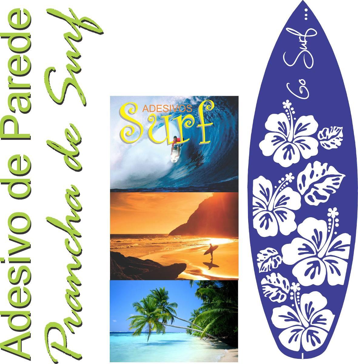 eadfcb75c Adesivo Parede Prancha Surf Gigante 1