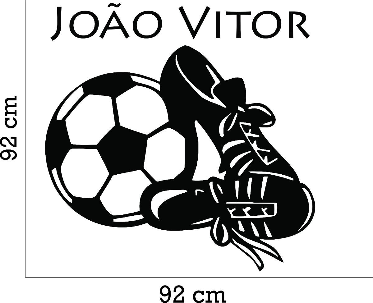5b5e231fc1 adesivo parede quarto infantil futebol bola chuteira + nome. Carregando  zoom.